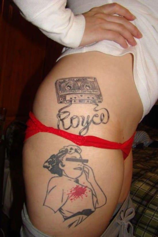 Awesome-retro-hip-tattoo-design