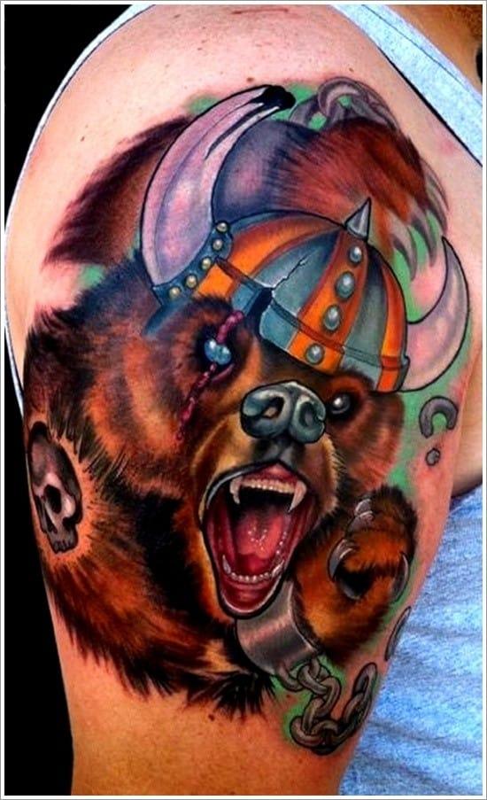 Bear-Tattoo-Design-6