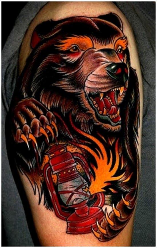 Bear-Tattoo-Design