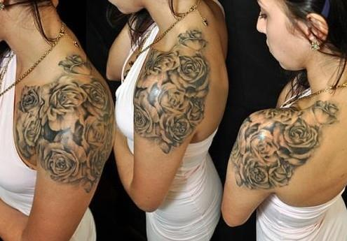 Beautiful-Rose-Tattoo-Ideas-on-Shoulder