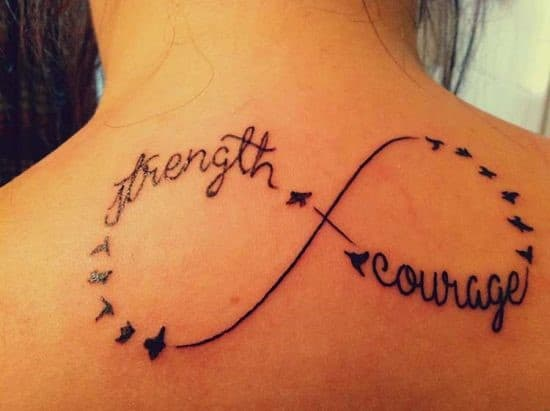 Birds-infinity-tattoo-sign-on-the-back