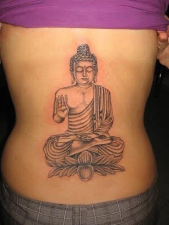 Buddha-Tatoo-on-back