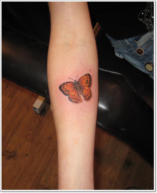 Butterflies-Tattoos-on-Wrist