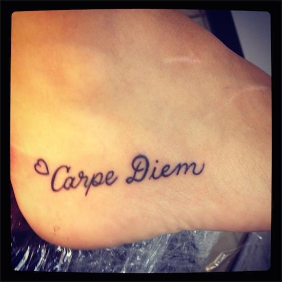100 creative carpe diem tattoos meanings 2017 for Carpe diem tattoos