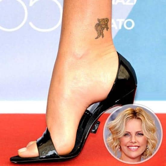 Sexiest ankle tattoos