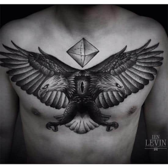 170 Best Chest Tattoos For Men Women March 2018 Part 6