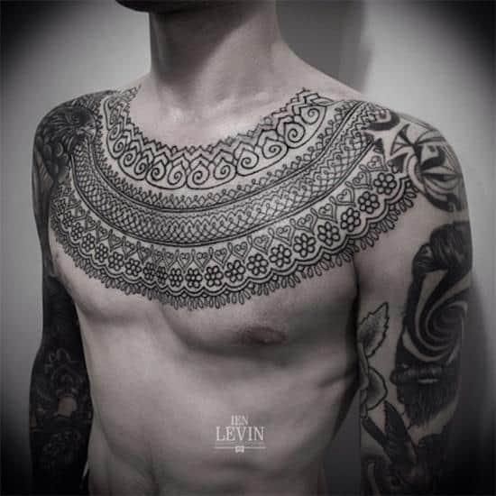 170 Best Chest Tattoos For Men Ultimate Guide January 2019 Part 6