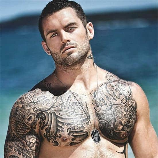 Top 144 Chest Tattoos For Men: 170+ Best Chest Tattoos For Men-Women (April 2018)