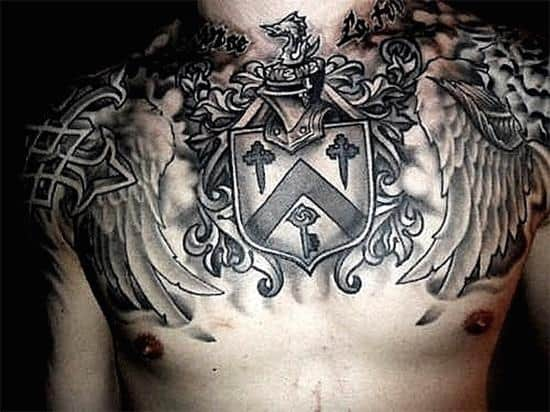 170 Best Chest Tattoos For Men Ultimate Guide February 2019 Part 4