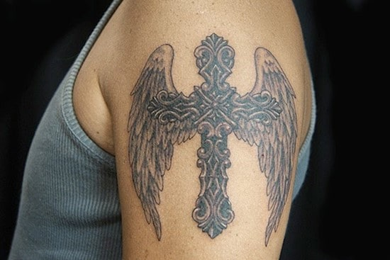 Cross tattoos designs ideas men women best (29)