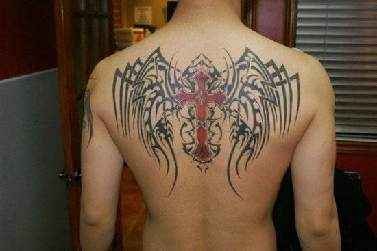 Cross tattoos designs ideas men women best (42)