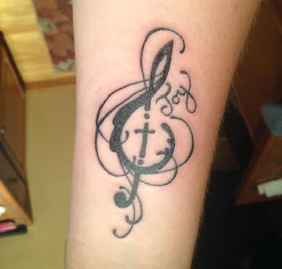 Cross tattoos designs ideas men women best (45)