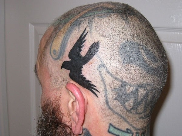 crow tattoo 62