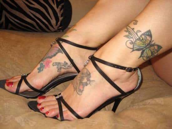 Cute-Butterfly-Ankle-Tattoo-Design