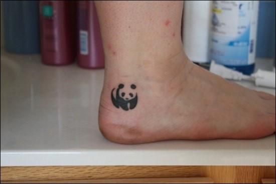 Cute-Small-Panda-Ankle-Tattoo