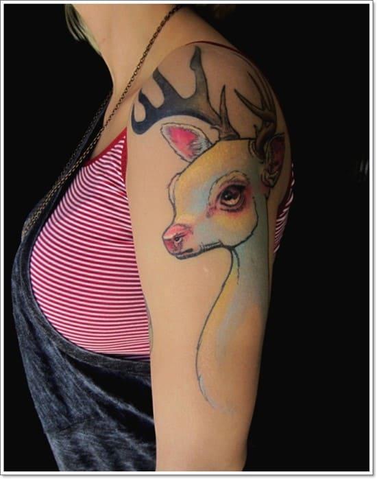 Deer-Tattoos-For-Men-And-Women-10