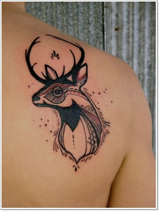Deer-Tattoos-For-Men-And-Women-13