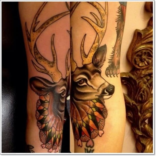 Deer-Tattoos-For-Men-And-Women-14