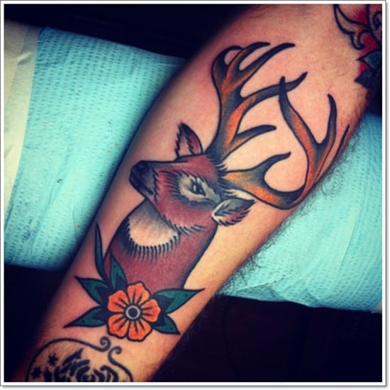 Deer-Tattoos-For-Men-And-Women-8