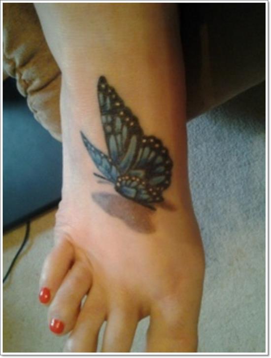Foot-Butterfly