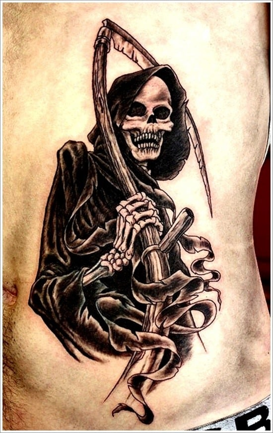 100 Meaningful Grim Reaper Tattoos Ultimate Guide 2020