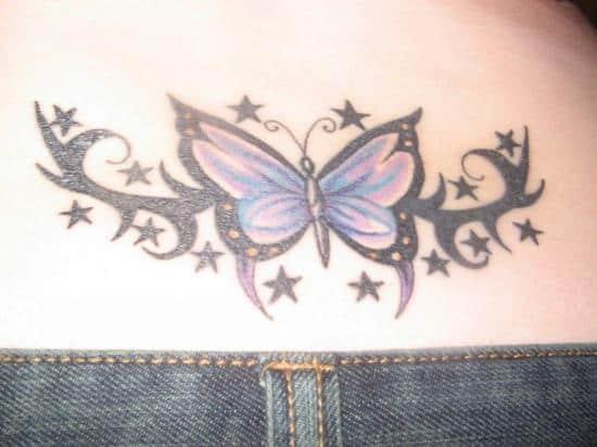 Lower-Back-Butterfly-Design