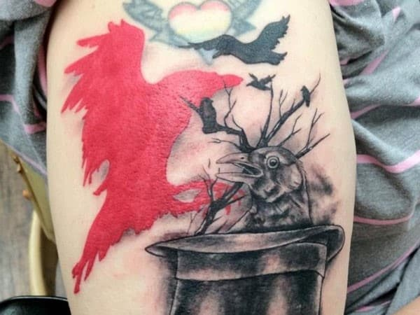 Red-Crow-Tattoo