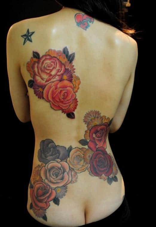 Rose-tattoo-Japanese-tattoos