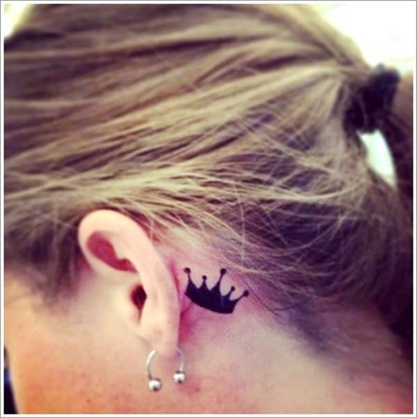 150 Meaningful Crown Tattoos Ultimate Guide February 2019 Part 8