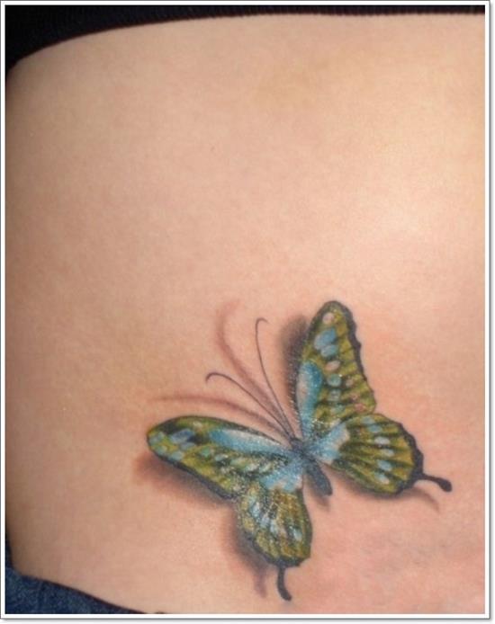 Stunning-3D-Butterfly-design