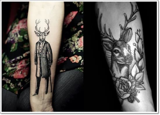 Tattoo-designs-tattoo-ideas-the-stag-gentleman-deer-arm-tattoo