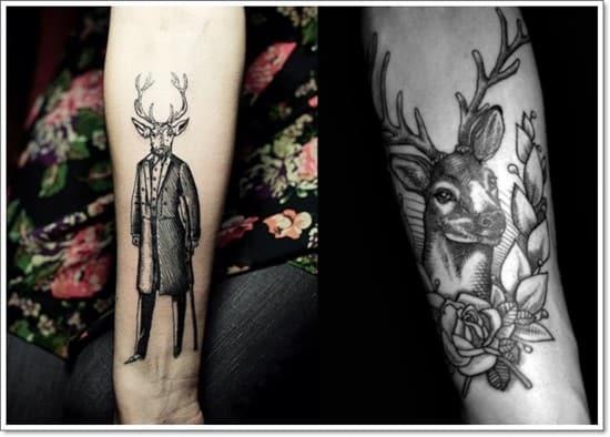Tattoo-designs-tattoo-ideas-the-stag-gentleman-deer-arm-tattoo