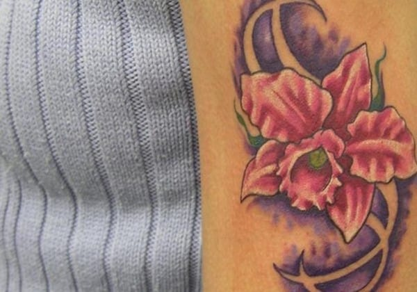 bicept-orchid-tattoo