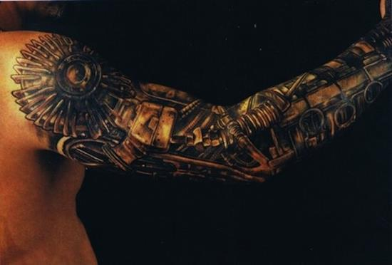 biomechanical-tattoo
