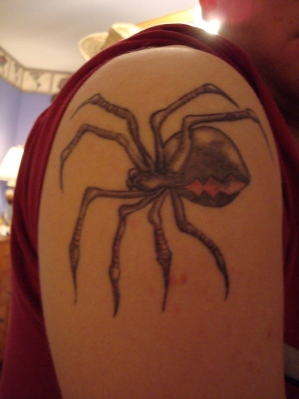 black-spider-tattoo