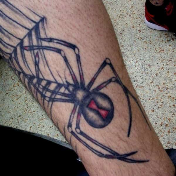 catchy-spider-tattoo
