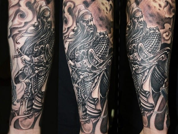 chinese-warrior-tattoo