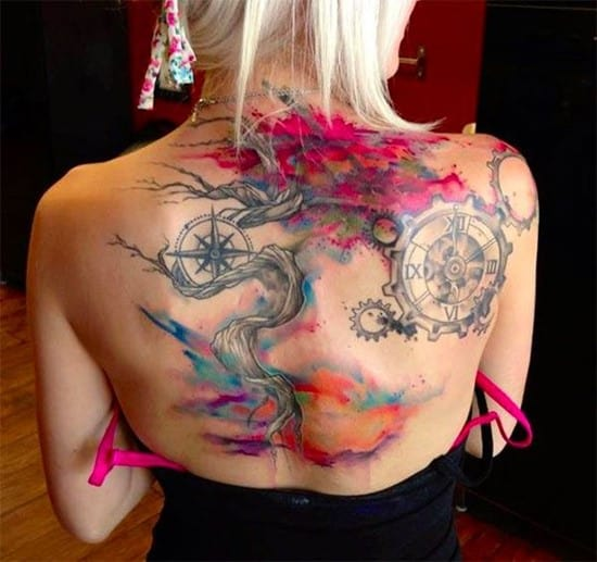 compass-tattoo-design10