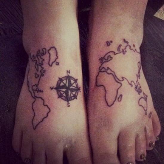 compass-tattoo-design13
