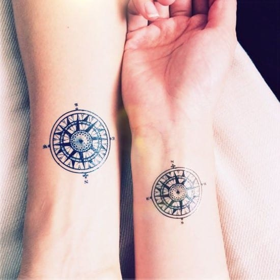 compass-tattoo-design16