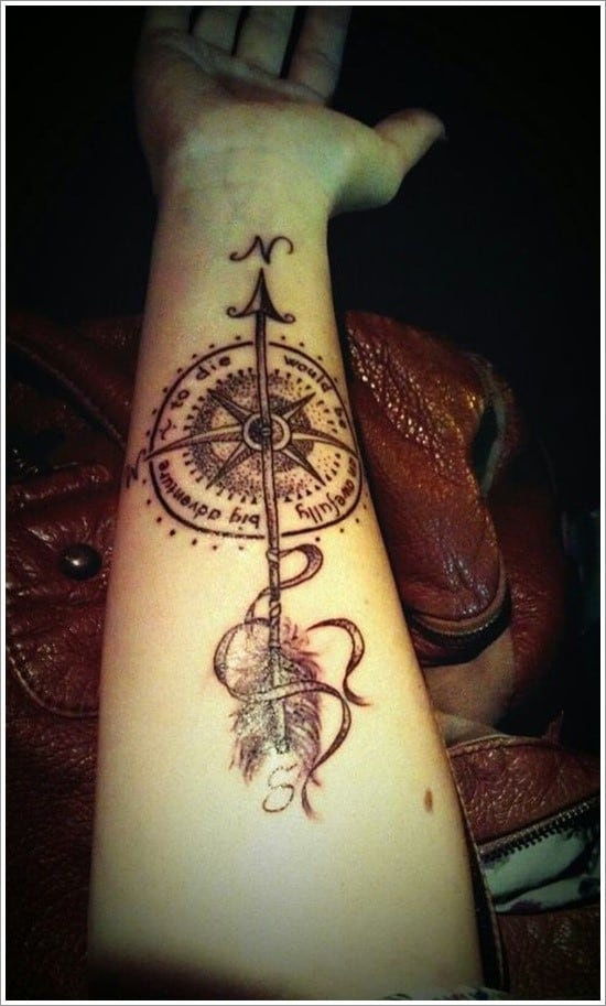 compass-tattoo-designs-10