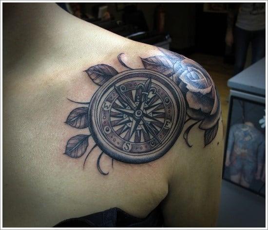 compass-tattoo-designs-16