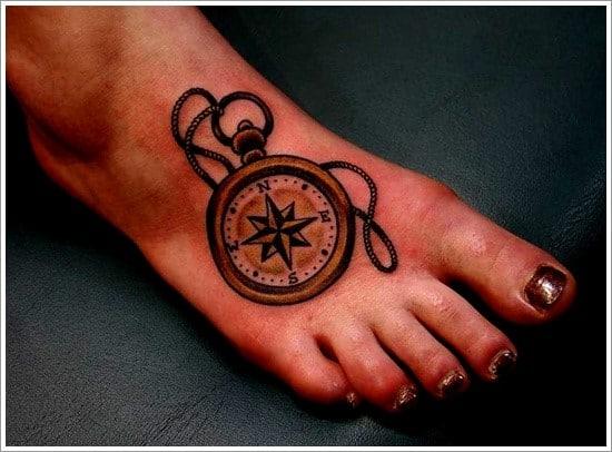compass-tattoo-designs-24