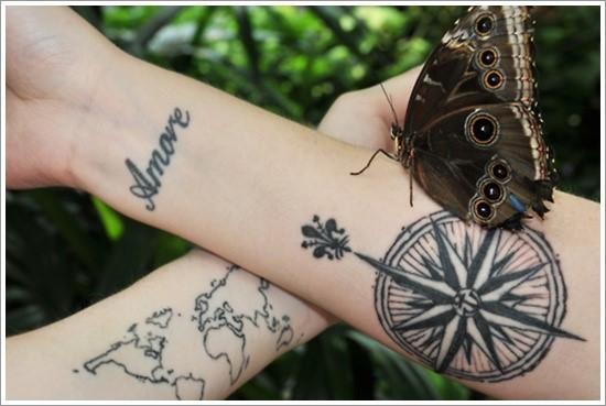 compass-tattoo-designs-29