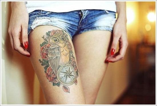 compass-tattoo-designs-30