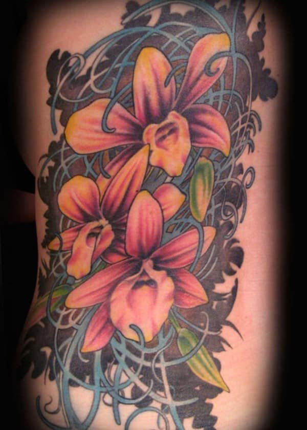cool-side-orchid-tattoo