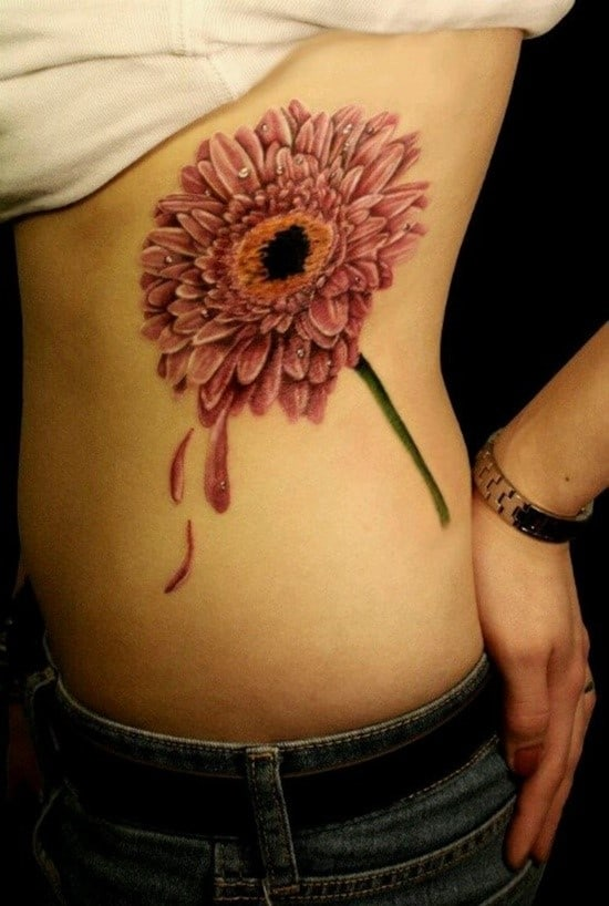 150 Small Daisy Tattoos Meanings Ultimate Guide October 2019