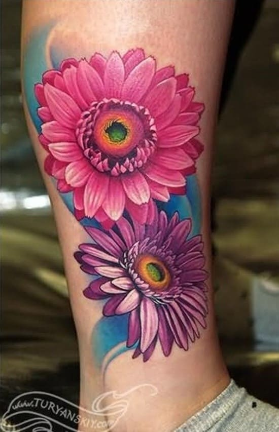 daisy-tattoo-22