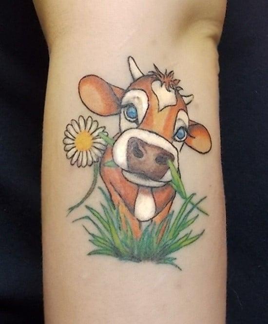 daisy-tattoo