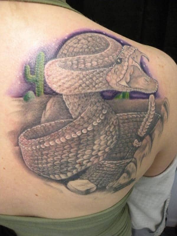 dark-rattle-snake-tattoo